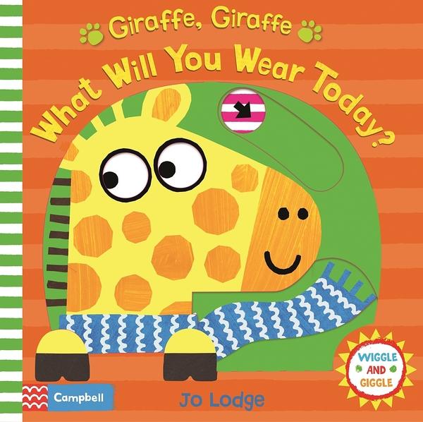 【幼兒操作書】GIRAFFE, GIRAFFE, WHAT WILL YOU WEAR TODAY? /操作書《主題: 季節》