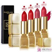 Guerlain嬌蘭 KISSKISS 法式之吻華麗絲霧唇膏(3.5g)-多色可選【美麗購】