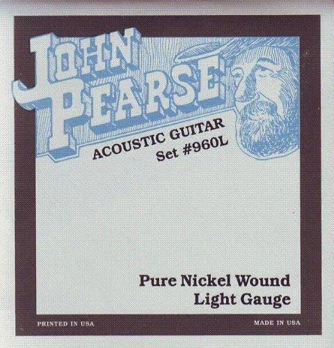 【小叮噹的店】全新 John Pearse JPXA-960L 經典美製 木吉他弦 鄉村風味 手感偏軟 公司貨