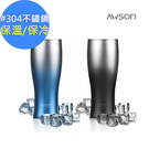【AWSON】不銹鋼雙層冰熱真空保溫杯460ml(ASM65)-不結露