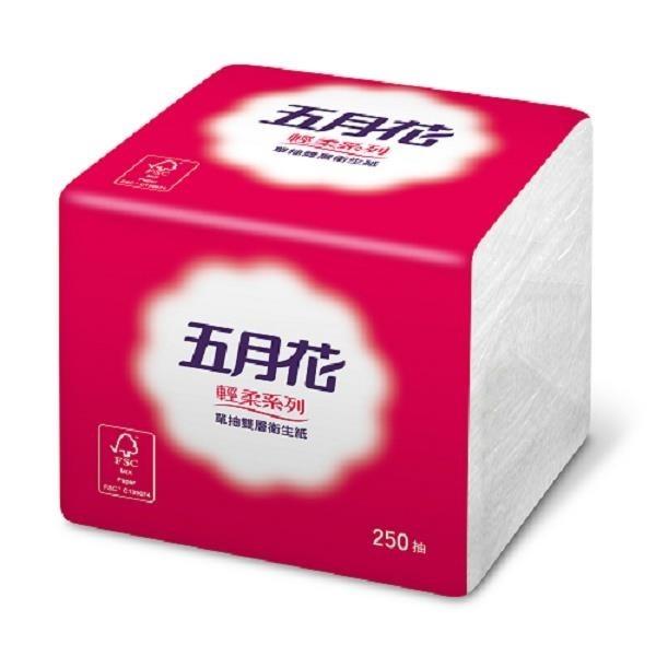 【南紡購物中心】五月花 單抽式衛生紙(250張*48包/箱)
