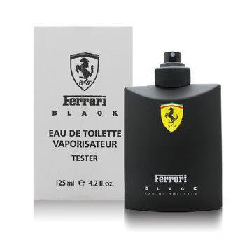 ●魅力十足● Ferrari 法拉利 黑色法拉利 125ml TESTER 極限挑戰男性香水