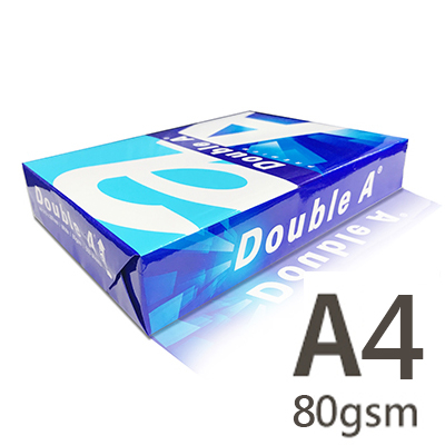 Double A A4 80gsm 雷射噴墨白色影印紙 500張入