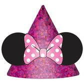 迪士尼 裝扮 迷你三角帽8入-米妮