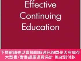 二手書博民逛書店預訂Effective罕見Continuing EducationY492923 Ronald Cervero