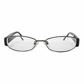 FENDI 黑框近視眼鏡 【二手名牌BRAND OFF】