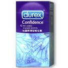 Durex杜蕾斯 薄型衛生套12入【躍獅】
