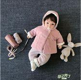 嬰兒外套 童裝嬰兒外套秋冬裝外套男女寶寶棉服棉衣衣服幼兒棉襖0-123歲全館免運