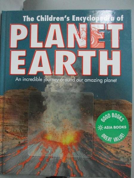 【書寶二手書T5/科學_EBR】Reference 5+: Children s Planet Erath Encyclopedia (Childrens Encyclopedia 5+)