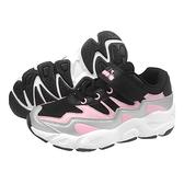 《Diadora》兒童 運動鞋 黑粉色 DA11030