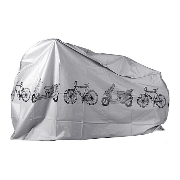 機車/自行車防塵防雨罩(灰色)1入【小三美日】