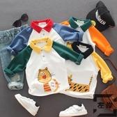 男女童t恤長袖兒童上衣寶寶純棉保暖打底衫【左岸男裝】