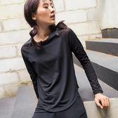 【新年鉅惠】樂為奇緊身運動長袖女吸汗速干網紗健身衣跑步T恤秋冬瑜伽上衣