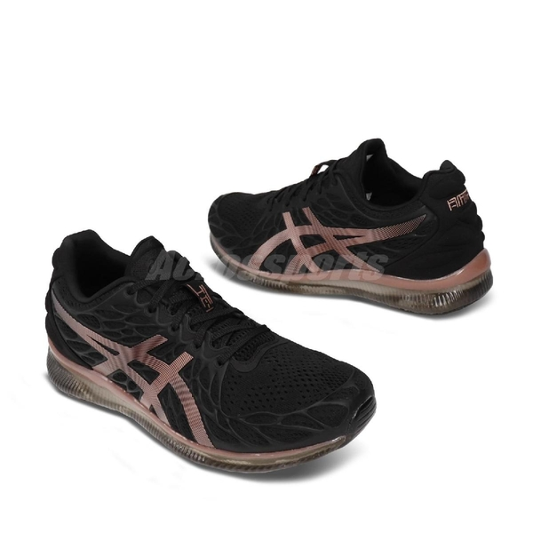 Asics 慢跑鞋 Gel-Quantum Infinity 2 黑 粉紅 女鞋 運動鞋 【ACS】 1022A161001