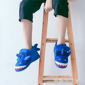 兒童棉拖鞋男童冬包跟寶寶可愛卡通防滑厚底中大童居家室內棉拖鞋 焦糖布丁