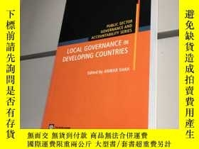 二手書博民逛書店Local罕見Governance in Developing Countries (英語) 平裝 【95品+++