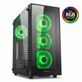 旋剛 Sharkoon TG5 RGB 炫光者 (RGB)電腦機殼 PC機殼 電競機殼 電腦機箱【迪特軍】