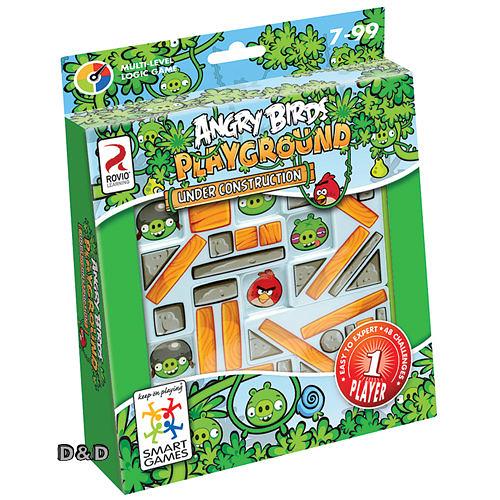 《 信誼 - Smart Games 》憤怒鳥捉迷藏 Angry Birds Under Construction   /  JOYBUS玩具百貨