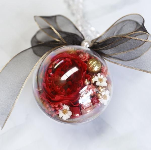 12mm 壓克力透明球 生永生花吊球 聖誕球 空心球 婚禮小物 公仔玩具球