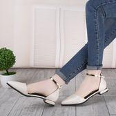 百搭尖頭中空涼鞋 米蘭shoe