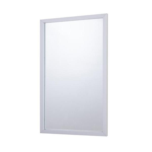 矩形鋁合金壁掛鏡銀色玻璃面板可水平或垂直懸掛【頁面價格是訂金價格】