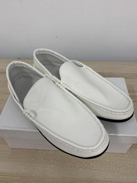 厚底懶人鞋潮款皮鞋休閒鞋(39號/121-6624)