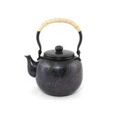 日本銅壺【島倉堂】棗型 青色銅壺0.9L 鎚起銅器 傳統工藝士手工銅壺 青銅茶具老鐵壺