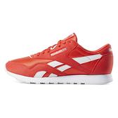 Reebok CL Nylon Color [CN7446] 男 休閒鞋 復古 慢跑 尼龍 經典 穿搭 紅白