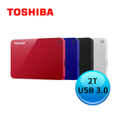 TOSHIBA Canvio Advance V9 2TB 2.5吋行動硬碟