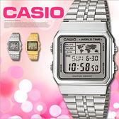 CASIO 前衛俐落手錶 34mm/世界地圖/A500WA-7/電子錶/防水/A500WA-7DF 現貨+排單 熱賣中!