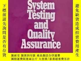 二手書博民逛書店Software罕見System Testing and Qua