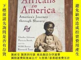 二手書博民逛書店Africans罕見in AmericaY12800 Patri