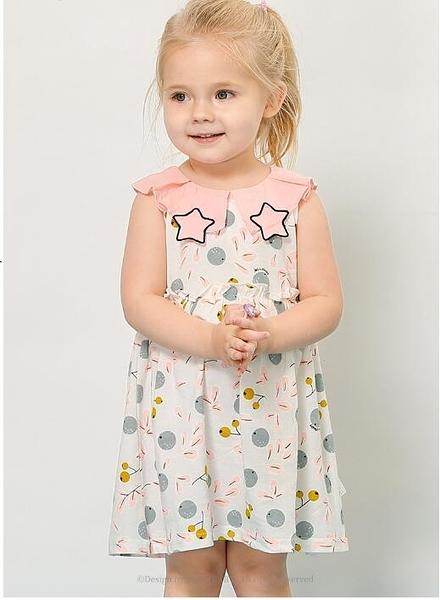 女童洋裝一歲3嬰兒裙童裝純棉夏季裙子小兒童公主裙5女寶寶夏裝 伊衫風尚