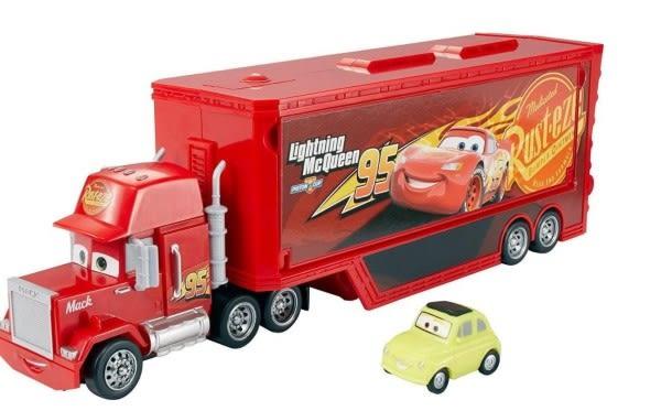 2-4月特價 汽車總動員 CARS3 DISNEY 汽車總動員 運輸車電影場景收藏盒 TOYeGO 玩具e哥