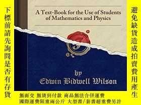 二手書博民逛書店Vector罕見Analysis; A Text-book For The Use Of Students Of