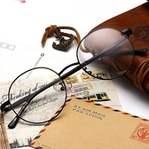 眼鏡框-文藝復古經典圓框男女鏡架4色71t11[巴黎精品]