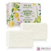 Institut Karite Paris 巴黎乳油木 檸檬馬鞭草花園香氛手工皂(200g)X2-公司貨