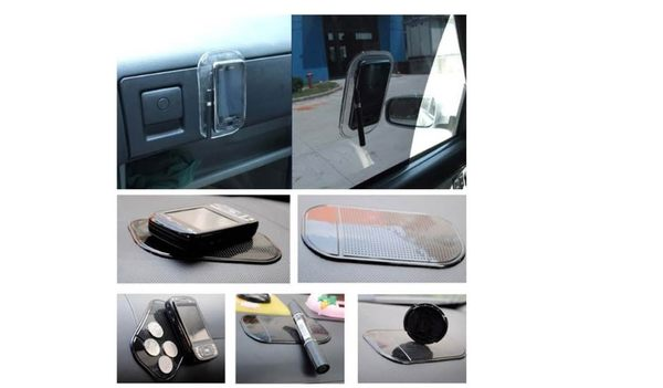 超強汽車硅膠防滑粘板 車用手機防滑墊