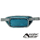 【PolarStar】多功能腰包『藍綠』P20813 露營.戶外.旅遊.自助旅行.多隔間.腰包.休閒包.側背包