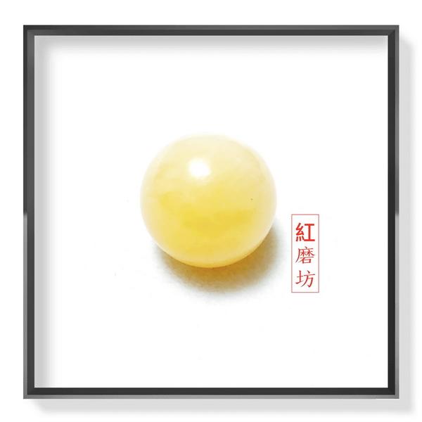 【紅磨坊】黃玉球天然黃玉球招財 綠紅黃白黑粉球 避邪 開運 【Ruby工作坊】 NO.3YC