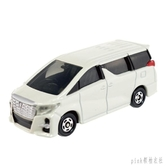商務車模型TOMY多美卡仿真合金小汽車12號豐田埃爾法玩具汽車模型 PA1390 『pink領袖衣社』