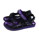 G.P (GOLD PIGEON) 阿亮代言 涼鞋 女鞋 黑/紫 G1671W-41 no439