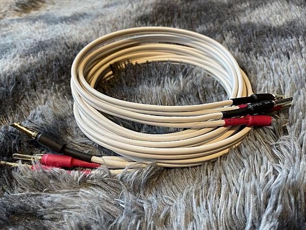 『門市有現貨』純手工製發燒级喇叭線 - 英國 QED Classic 79 strand 2.5米+2.5米
