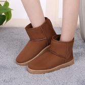 雪地靴女短筒冬季新品正韓加絨短靴學生百搭保暖加厚棉鞋 9色可選 【快速出貨】