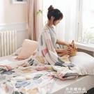 毛毯被子夏季蓋毯珊瑚絨毯子空調學生宿舍單人法蘭絨辦公室午睡毯【果果新品】