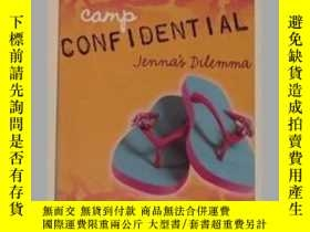 二手書博民逛書店英文原版罕見Jenna s Dilemma (Camp Con