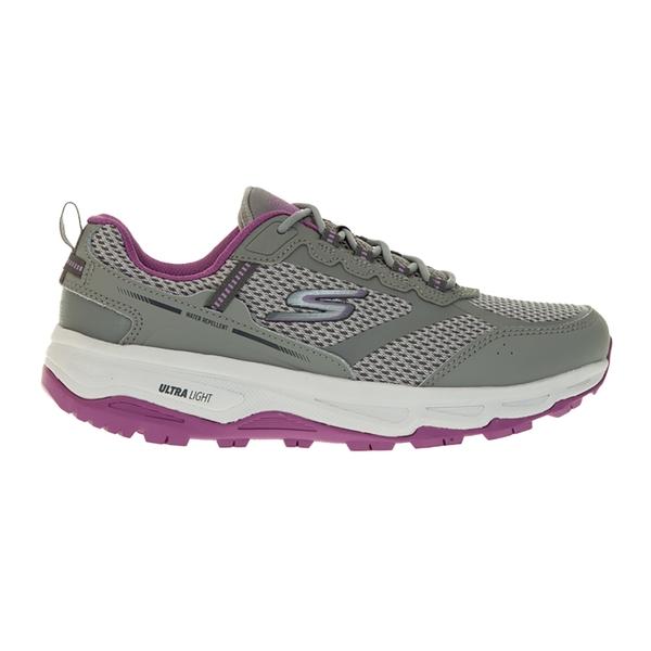 SKECHERS GO RUN TR ALTITUDE 女款慢跑鞋 寬楦 野跑鞋避震緩衝郊山健走 灰紫 128200WGYPR