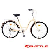 (送九大好禮)【BATTLE】 Maggie 美琪 日本暢銷車款24吋單速淑女車