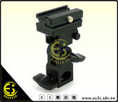 ES數位館 燈架專用 離機閃光燈座 閃光燈傘座Canon Nikon Olympus Leica 數位相機通用型