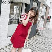 中大尺碼 吊帶背心連身裙~共三色 - 適XL~4L《 66353 》CC-GIRL 新品